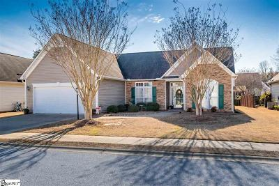 Greenville Single Family Home For Sale: 49 Cantera