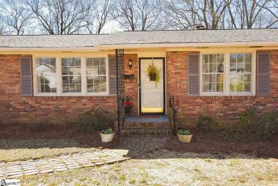 Greenville Single Family Home For Sale: 109 Amber