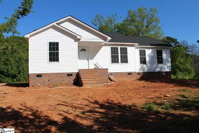 Pelzer Single Family Home For Sale: 111 Whippoorwill