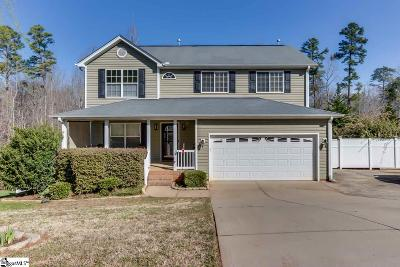 Greer Single Family Home For Sale: 719 Timberwood
