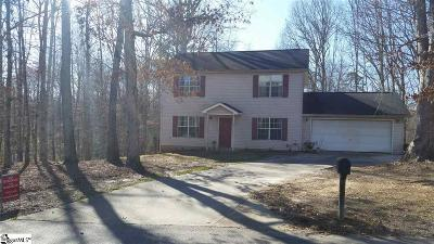 Travelers Rest Single Family Home For Sale: 27 Webb Creek