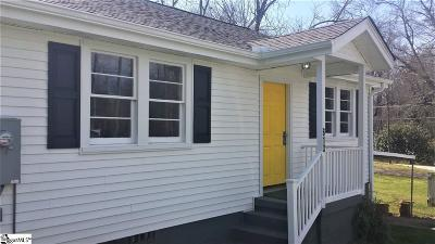 Easley Single Family Home For Sale: 613 W 2nd