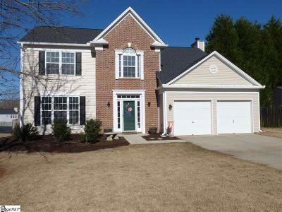 Greer Single Family Home For Sale: 6 Ager