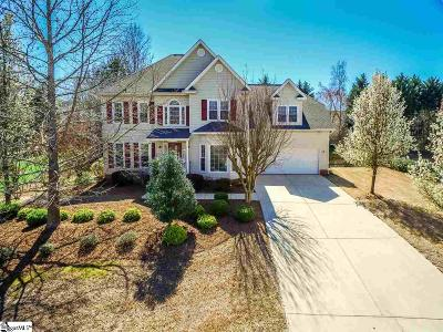 Simpsonville Single Family Home For Sale: 809 Worchester