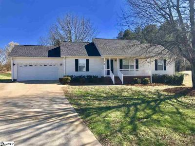 Boiling Springs Single Family Home For Sale: 256 Summer Lady