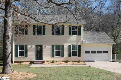 Greenville Single Family Home For Sale: 10 Ferncrest