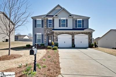 Easley Single Family Home For Sale: 105 Yount