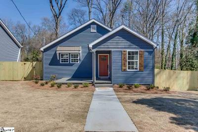 Greenville SC Single Family Home Contingency Contract: $259,900