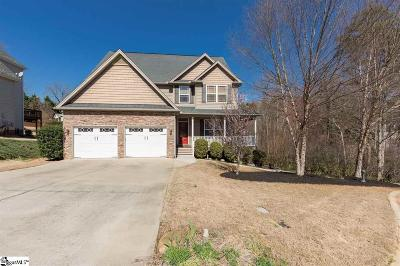 Greer Single Family Home For Sale: 407 Chestnut Woods