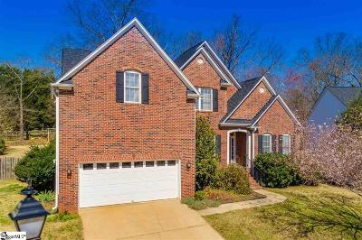 Greer Single Family Home For Sale: 11 Wolf Den