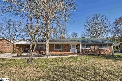 Greenville Single Family Home For Sale: 705 Edwards