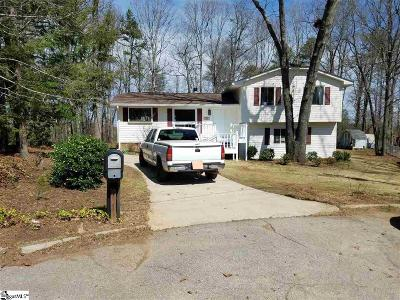 Travelers Rest Single Family Home For Sale: 42 Windtree