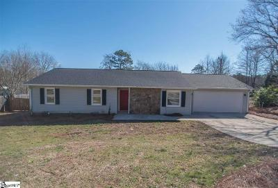Greer Single Family Home For Sale: 122 Apollo