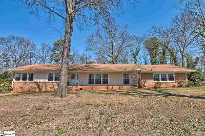 Greenville Single Family Home For Sale: 412 Trinity