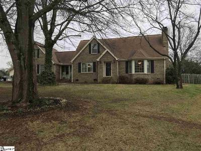 Anderson Single Family Home For Sale: 103 Yorkshire
