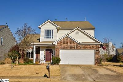 Simpsonville Single Family Home For Sale: 303 Blant