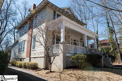 Spartanburg Single Family Home For Sale: 120 Connecticut