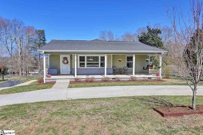 Travelers Rest Single Family Home For Sale: 112 Hilltop