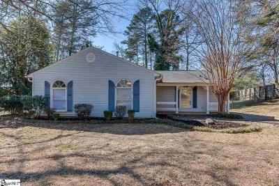 Piedmont Single Family Home For Sale: 4 Charlwood