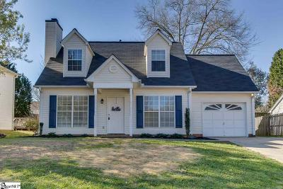 Simpsonville Single Family Home For Sale: 113 Clear Lake