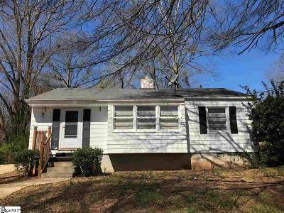 Greenville Single Family Home For Sale: 10 E Decatur