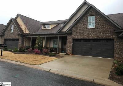 Simpsonville Condo/Townhouse For Sale: 814 Asheton Commons