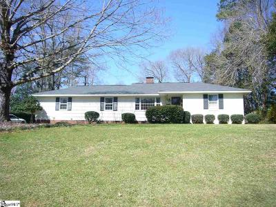 Spartanburg Single Family Home For Sale: 107 Eastwood