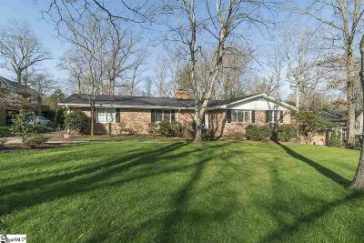 Greenville Single Family Home For Sale: 104 Botany