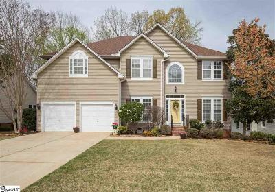 Simpsonville Single Family Home For Sale: 121 E Glohaven