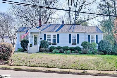 Greenville Single Family Home For Sale: 304 Summit