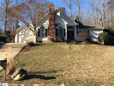 Greenville Single Family Home For Sale: 1110 Half Mile Way