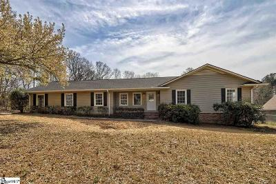 Easley Single Family Home For Sale: 104 Sunset