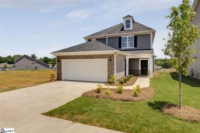 Spartanburg Single Family Home For Sale: 135 Eventine