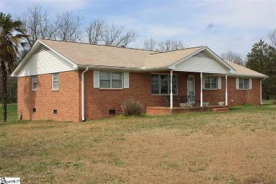 Greer Single Family Home For Sale: 4147 N Hwy 14