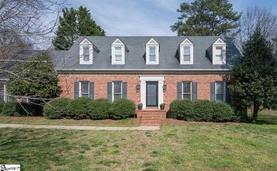 Greer Single Family Home For Sale: 213 Governors Square