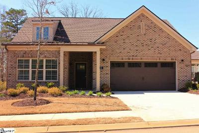 Simpsonville Single Family Home For Sale: 9 Layken