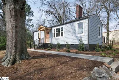 Greenville SC Single Family Home For Sale: $189,000