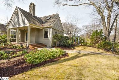 Greenville SC Single Family Home For Sale: $574,900