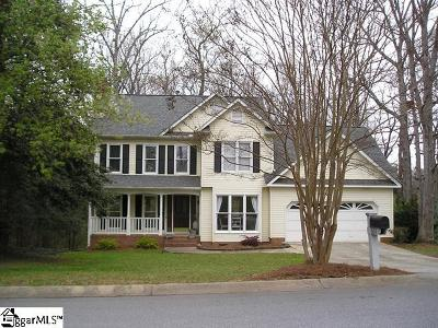 Simpsonville Single Family Home Contingency Contract: 601 Spring Lake
