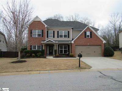 Simpsonville Single Family Home For Sale: 408 River Summit