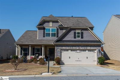 Simpsonville Single Family Home For Sale: 209 Riverdale