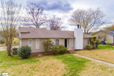 Greer Single Family Home For Sale: 100 Governors
