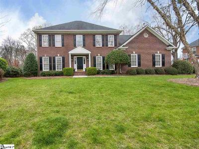 Simpsonville Single Family Home Contingency Contract: 225 Huddersfield