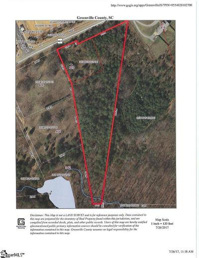 Simpsonville Residential Lots & Land For Sale: 410 Lee Vaughn
