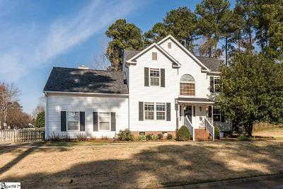 Simpsonville Single Family Home For Sale: 100 S Birkenstock
