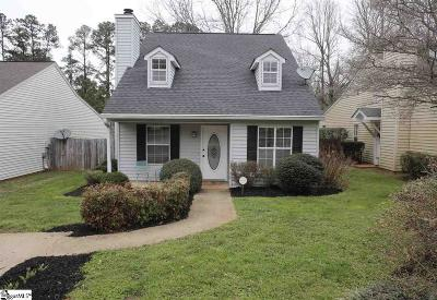 Greenville SC Single Family Home For Sale: $124,900