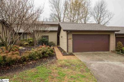 Greer Condo/Townhouse For Sale: 151 Tanager