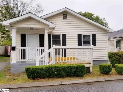 Greenville Single Family Home For Sale: 4 Burns