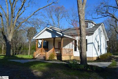 Fountain Inn Single Family Home For Sale: 1911 McKelvey
