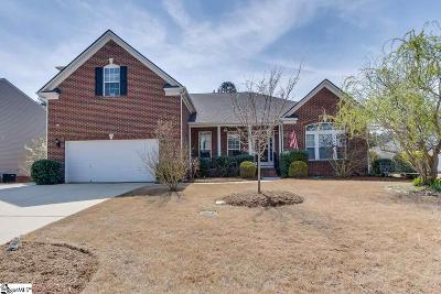 Easley SC Single Family Home For Sale: $280,000